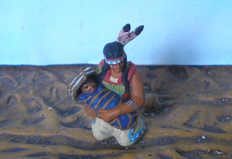 Bemalungen, Umbauten, Modellierungen – neue Indianer für meine Dioramen - Seite 6 Elasto10