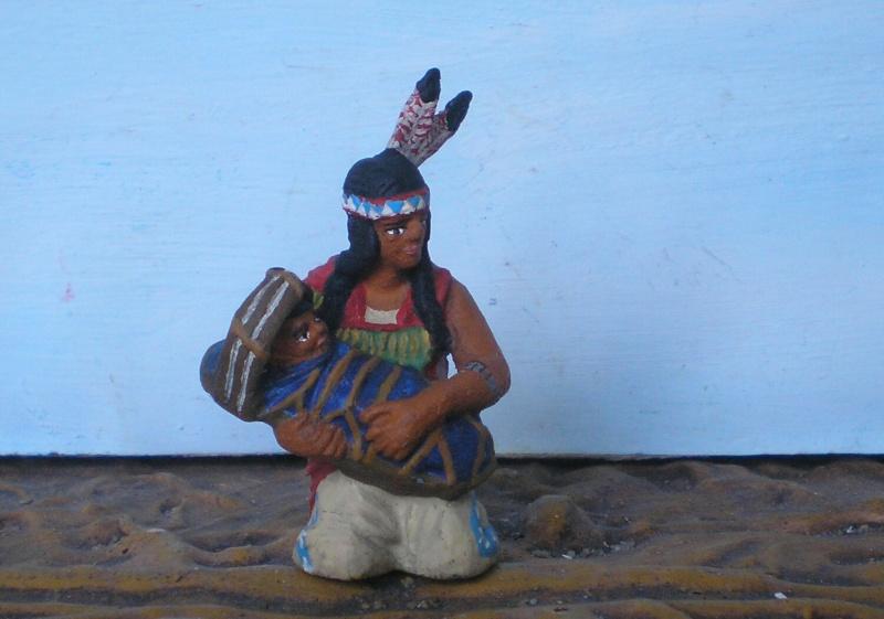 Bemalungen, Umbauten, Modellierungen – neue Indianer für meine Dioramen - Seite 6 Elasto11