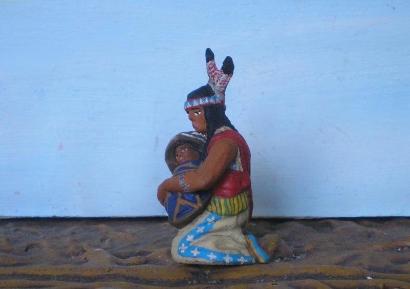 Bemalungen, Umbauten, Modellierungen – neue Indianer für meine Dioramen - Seite 6 Elasto12