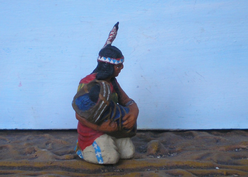 Bemalungen, Umbauten, Modellierungen – neue Indianer für meine Dioramen - Seite 6 Elasto13