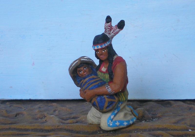 Bemalungen, Umbauten, Modellierungen – neue Indianer für meine Dioramen - Seite 6 Elasto14