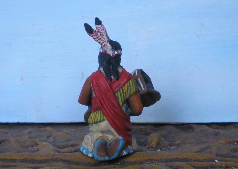 Bemalungen, Umbauten, Modellierungen – neue Indianer für meine Dioramen - Seite 6 Elasto15