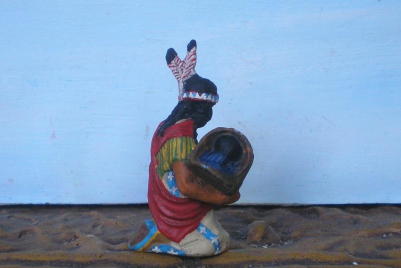 Bemalungen, Umbauten, Modellierungen – neue Indianer für meine Dioramen - Seite 6 Elasto16