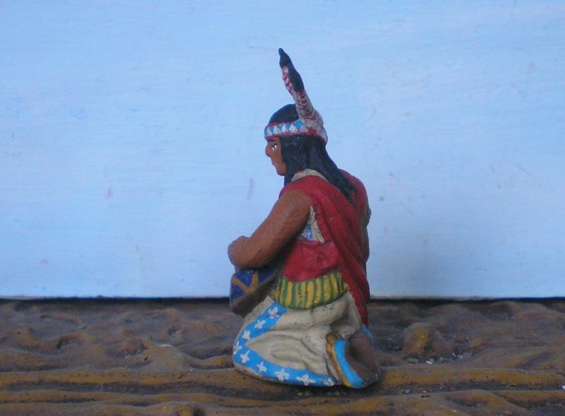 Bemalungen, Umbauten, Modellierungen – neue Indianer für meine Dioramen - Seite 6 Elasto17