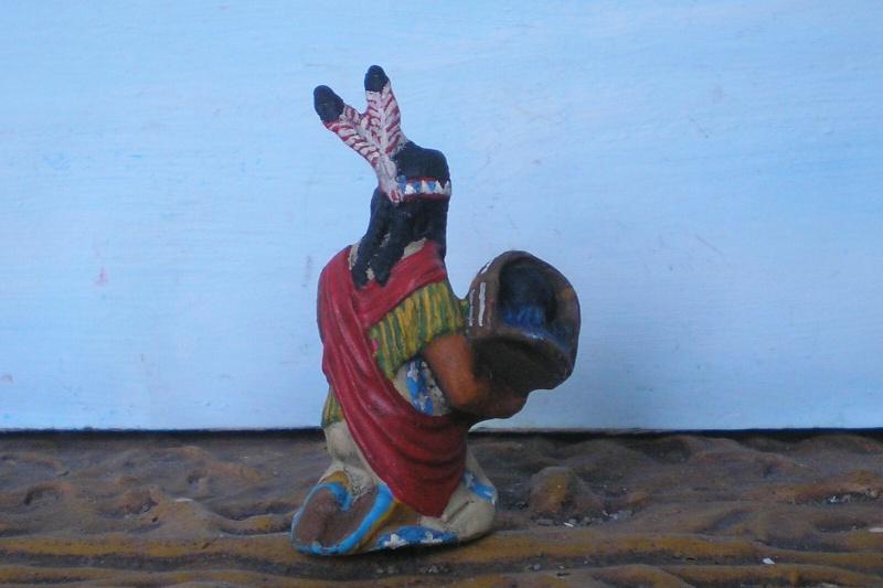 Bemalungen, Umbauten, Modellierungen – neue Indianer für meine Dioramen - Seite 6 Elasto18