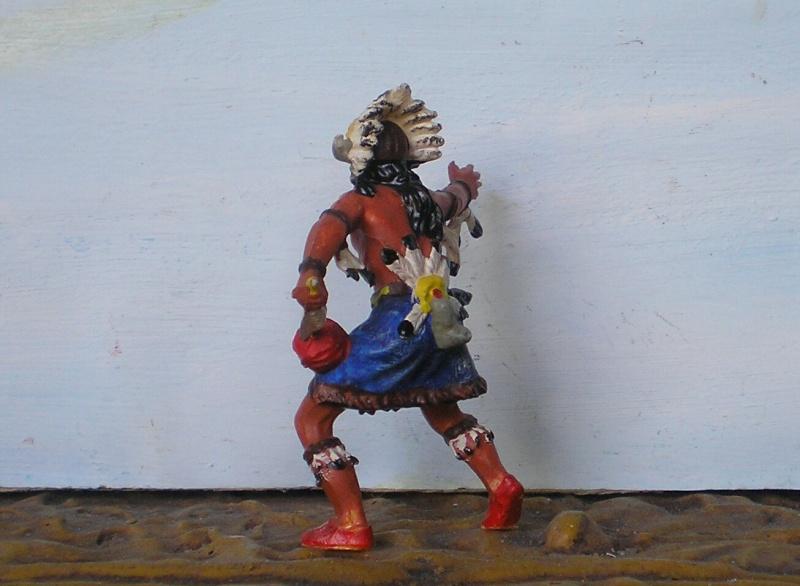 Bemalungen, Umbauten, Modellierungen – neue Indianer für meine Dioramen - Seite 6 Elasto22