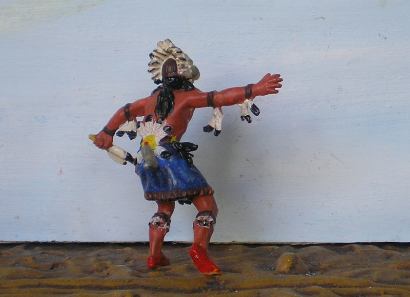 Bemalungen, Umbauten, Modellierungen – neue Indianer für meine Dioramen - Seite 6 Elasto24