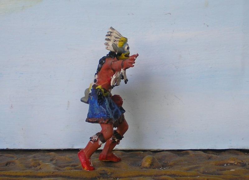 Bemalungen, Umbauten, Modellierungen – neue Indianer für meine Dioramen - Seite 6 Elasto25