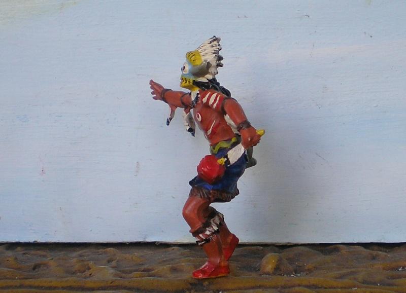 Bemalungen, Umbauten, Modellierungen – neue Indianer für meine Dioramen - Seite 6 Elasto26
