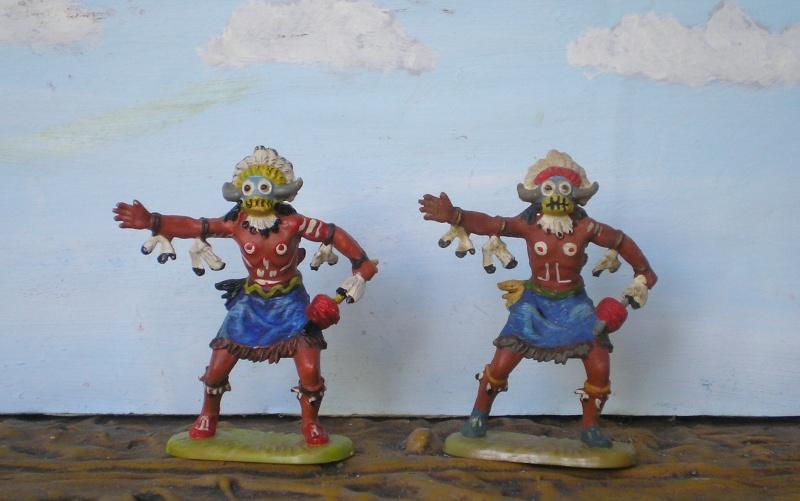 Bemalungen, Umbauten, Modellierungen – neue Indianer für meine Dioramen - Seite 6 Elasto29