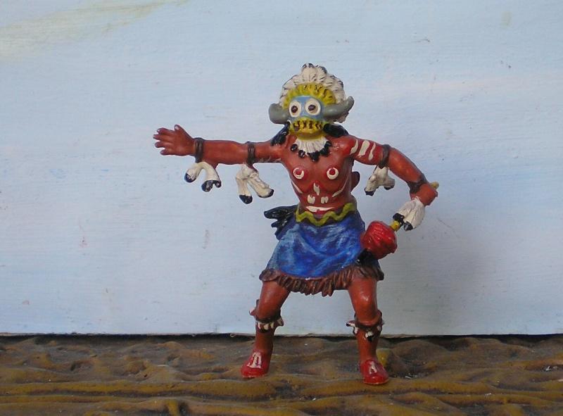 Bemalungen, Umbauten, Modellierungen – neue Indianer für meine Dioramen - Seite 6 Elasto32