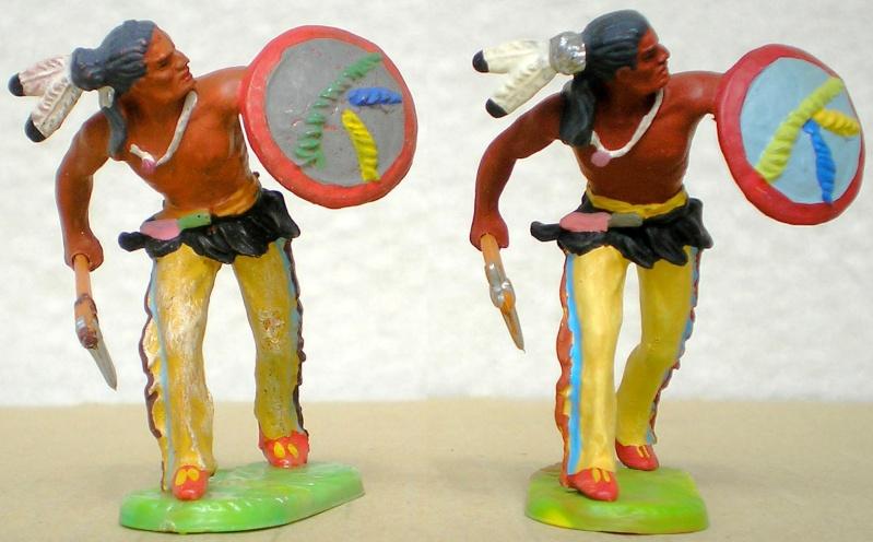 Bemalungen, Umbauten, Modellierungen – neue Indianer für meine Dioramen - Seite 6 Elasto34