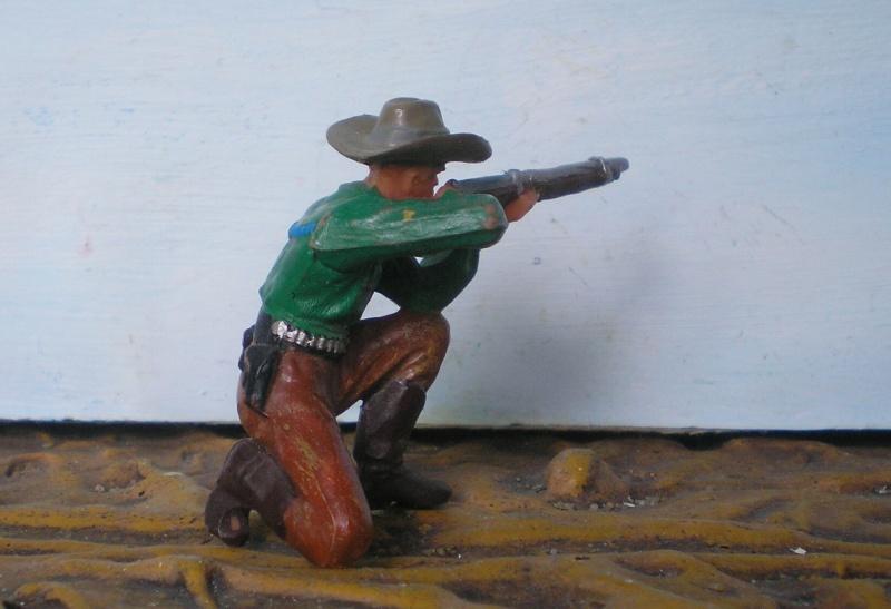 Bemalungen, Umbauten, Modellierungen - neue Cowboys für meine Dioramen - Seite 2 Elasto44