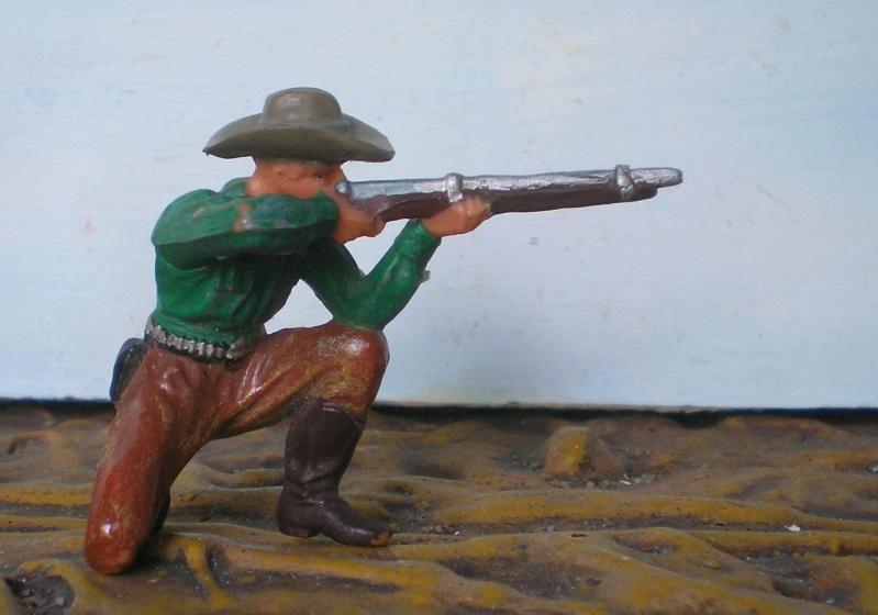 Bemalungen, Umbauten, Modellierungen - neue Cowboys für meine Dioramen - Seite 2 Elasto45