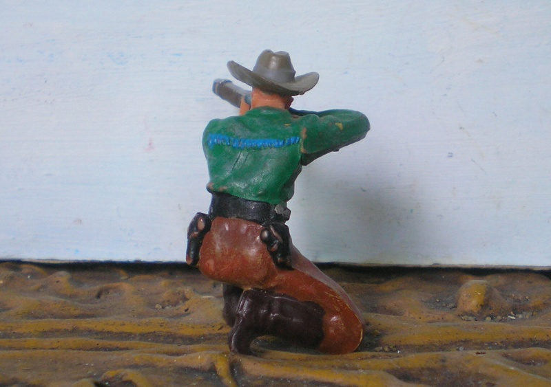Bemalungen, Umbauten, Modellierungen - neue Cowboys für meine Dioramen - Seite 2 Elasto46