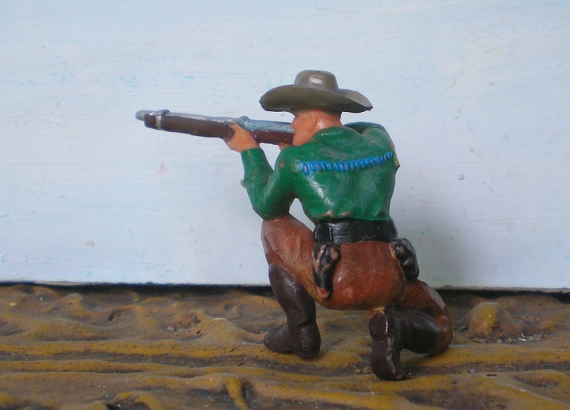 Bemalungen, Umbauten, Modellierungen - neue Cowboys für meine Dioramen - Seite 2 Elasto47