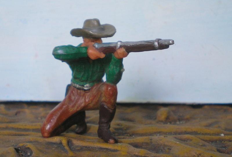 Bemalungen, Umbauten, Modellierungen - neue Cowboys für meine Dioramen - Seite 2 Elasto48