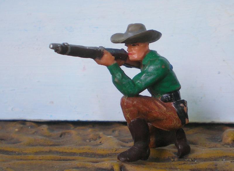 Bemalungen, Umbauten, Modellierungen - neue Cowboys für meine Dioramen - Seite 2 Elasto49