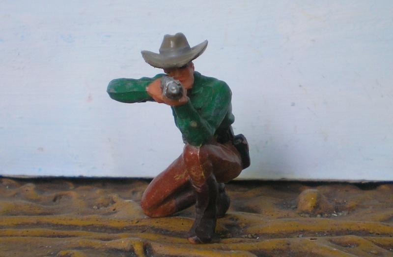 Bemalungen, Umbauten, Modellierungen - neue Cowboys für meine Dioramen - Seite 2 Elasto50