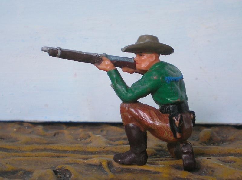 Bemalungen, Umbauten, Modellierungen - neue Cowboys für meine Dioramen - Seite 2 Elasto51