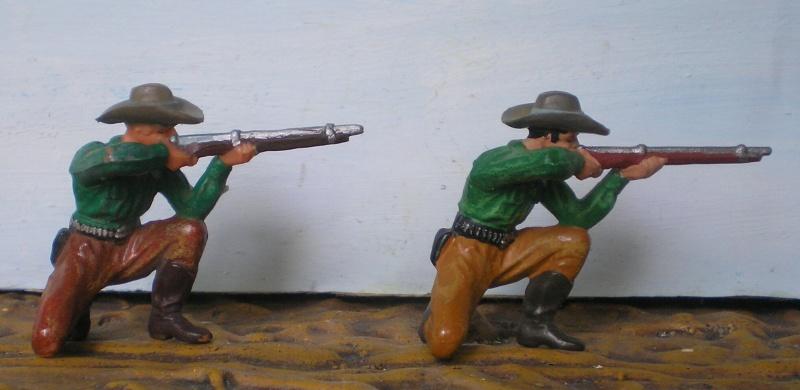 Bemalungen, Umbauten, Modellierungen - neue Cowboys für meine Dioramen - Seite 2 Elasto52