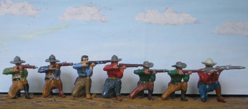 Bemalungen, Umbauten, Modellierungen - neue Cowboys für meine Dioramen - Seite 2 Elasto54