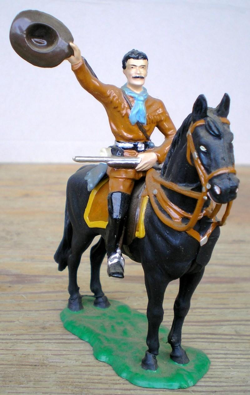 Bemalungen, Umbauten, Modellierungen - neue Cowboys für meine Dioramen - Seite 2 Elasto56