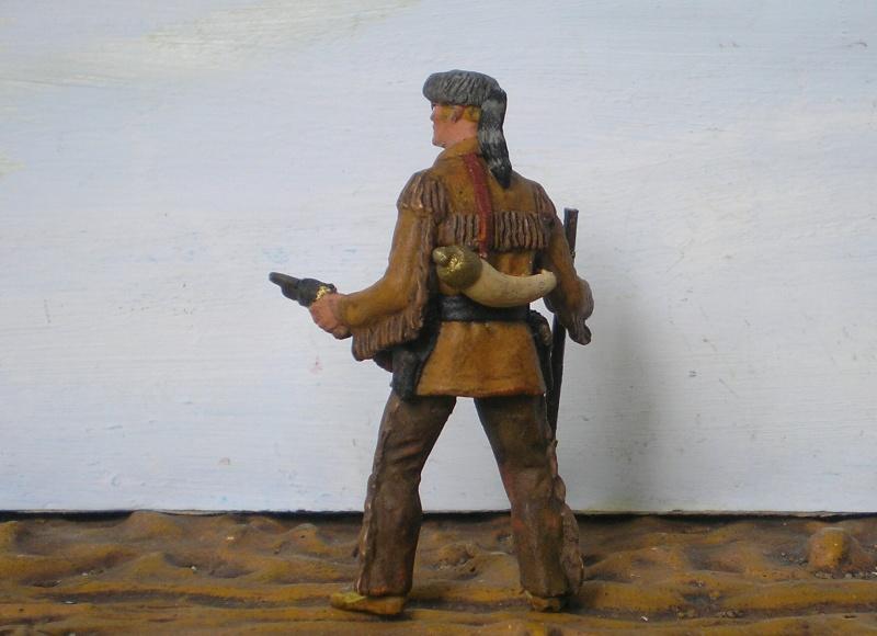Bemalungen, Umbauten, Modellierungen - neue Cowboys für meine Dioramen - Seite 3 Elasto71