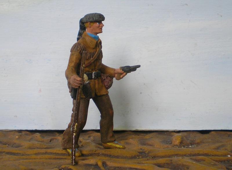 Bemalungen, Umbauten, Modellierungen - neue Cowboys für meine Dioramen - Seite 3 Elasto73