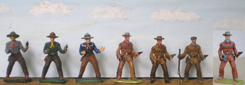 Bemalungen, Umbauten, Modellierungen - neue Cowboys für meine Dioramen - Seite 3 Elasto76