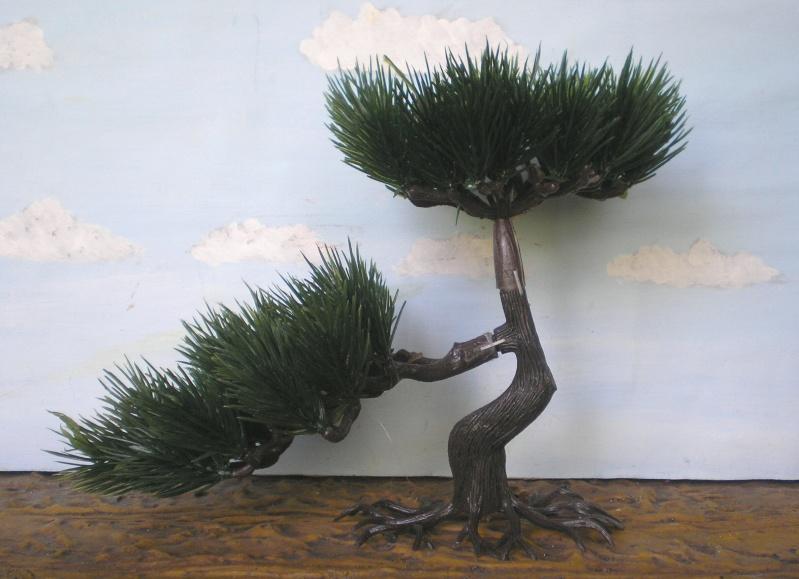 Gestaltung eines Dioramas mit den Tannen von Playmobil Tannen14