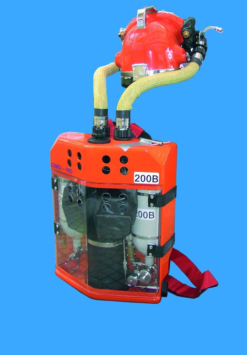 recycleur de secours semi-fermé COMEX 12916810