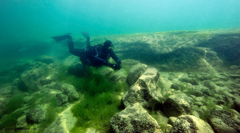Montalègre, une carrière subaquatique dans le Léman  _dsc9715