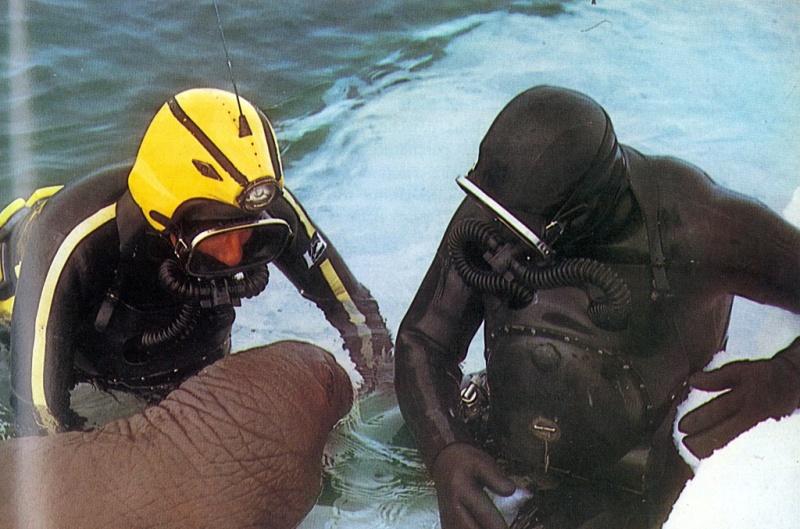 Oxygers 57 + casque Cousteau Doc20110