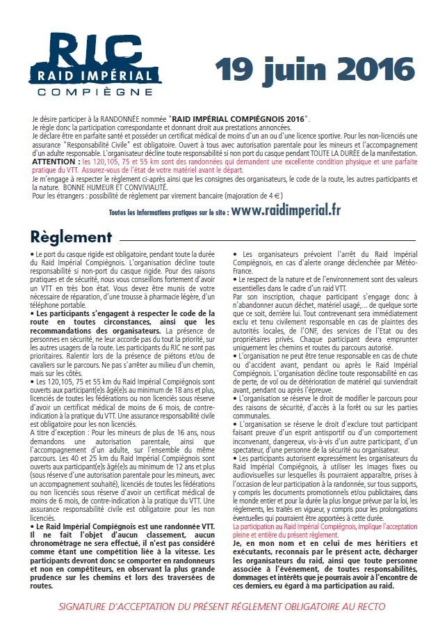 [60] 19/06/16 Raid Impérial Compiègnois Ryglem10
