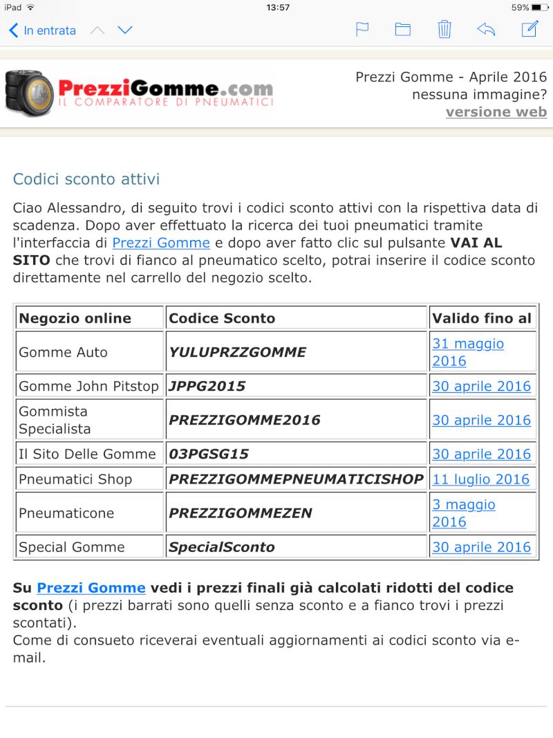 Sito aggregatore rivenditori Pneumatici Web e codici sconti Image13