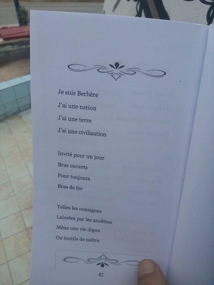 """ je suis Berbere"" de Mokhtar Chebbah 236"