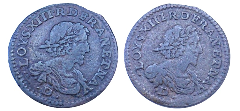 Double tournois Louis XIII  310