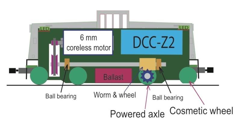 Un GE 44 ton en Z - Page 2 Motori10