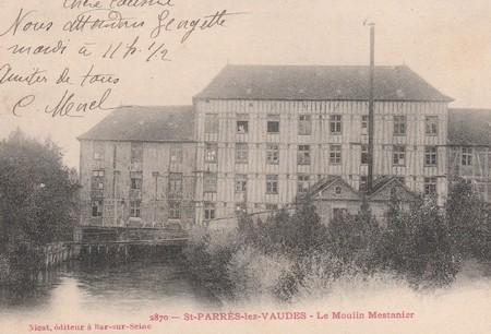 """Aube - Plomb de scelle """"Mestanier a Saint Parres- les-Vaudes """". Mestan10"""
