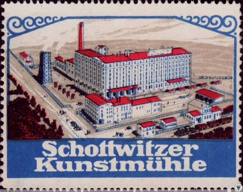 """052 – Plomb de scelle """" Schottwizter Kunstmühle - Breslau"""". Schott10"""