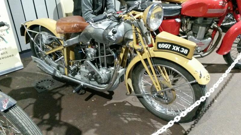 Salon de la moto de Limoges ! J'y suis allé. 20160421