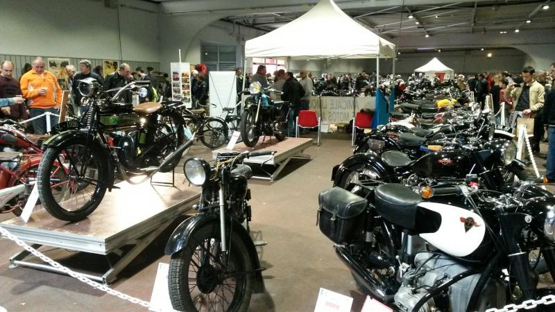 Salon de la moto de Limoges ! J'y suis allé. 20160424