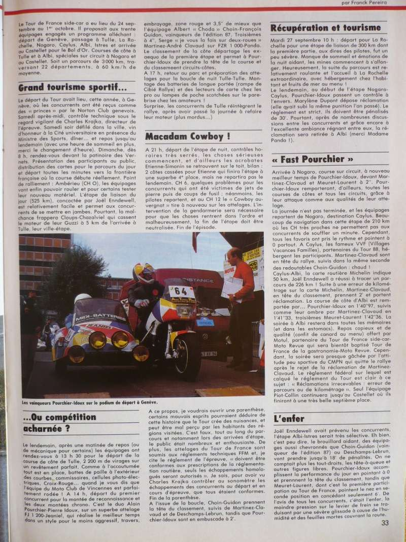 [Oldies] 1980 à 1988: Le Tour de France side-car, par Joël Enndewell  - Page 15 P1110111