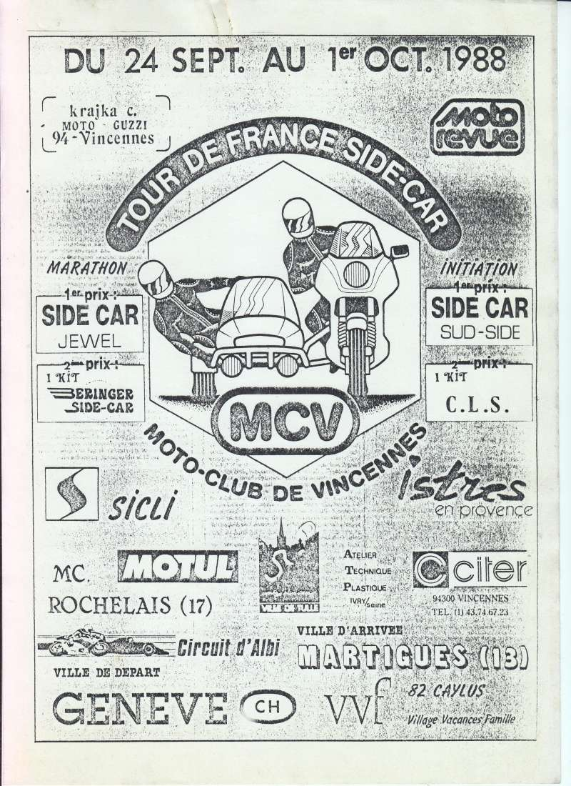 [Oldies] 1980 à 1988: Le Tour de France side-car, par Joël Enndewell  - Page 15 Sans_252