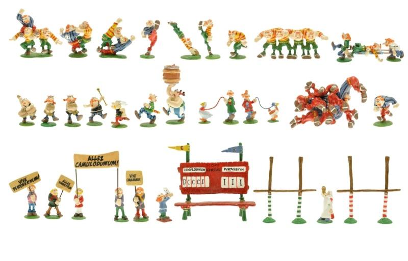 Match de rugby d'Asterix chez les Bretons Pixi-210