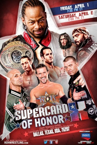 [Résultats] ROH Supercard of Honor: Night One du 1/04/2016 Roh04012