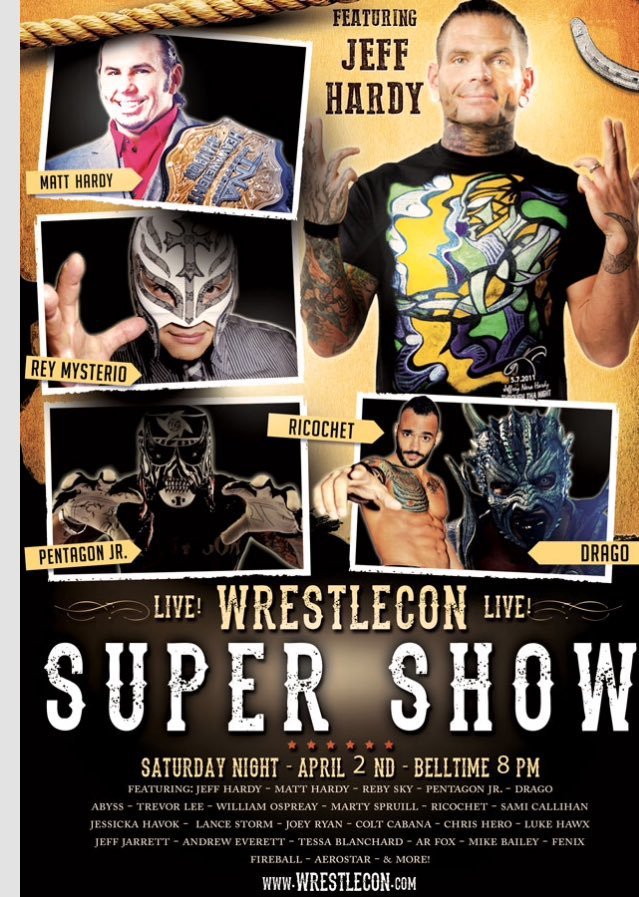 [Résultats] WrestleCon Supershow du 2/04/2016 Wrestl10