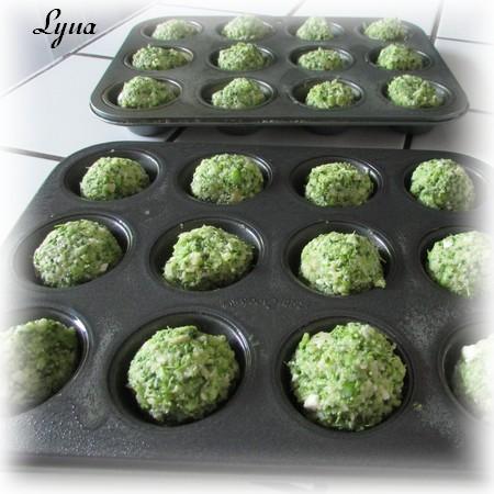 Boulettes de brocoli au parmesan Boulet10