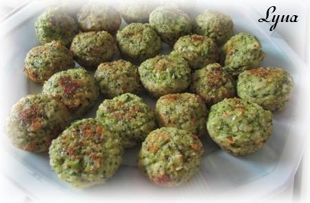 Boulettes de brocoli au parmesan Boulet11